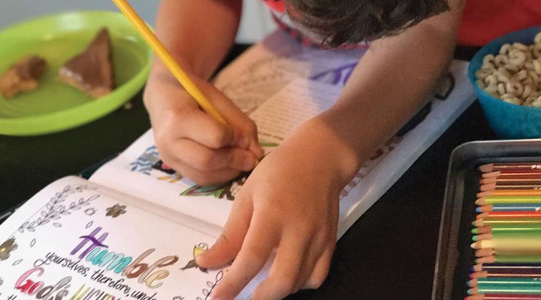 "Big and Little Coloring Devotional: ""So Much More Than A Coloring Book…"""