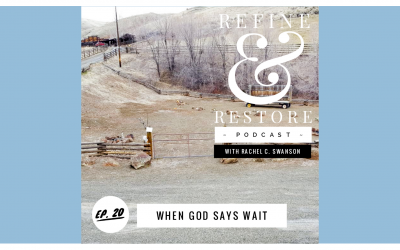 Refine and Restore Podcast: Ep. 20  – When God Says Wait
