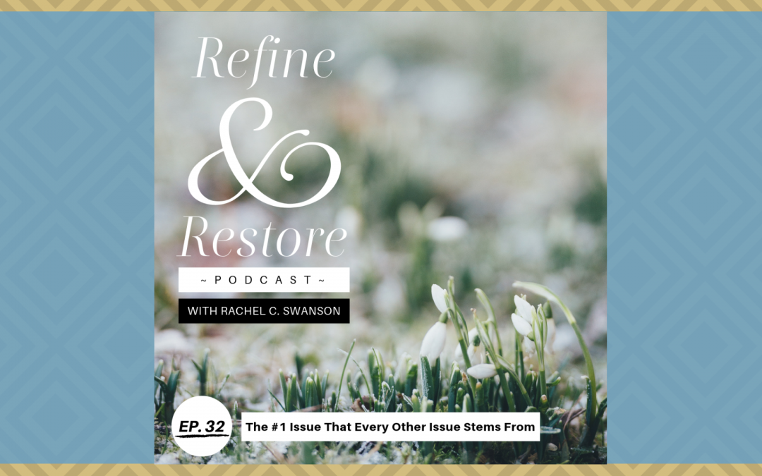 Refine and Restore Podcast Ep. 32: The #1 Issue That Every Other Issue Stems From